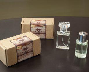 Perfume con marca propia